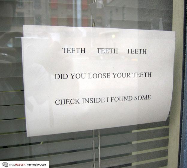 Teeth Teeth Teeth